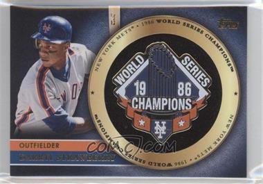 2012 Topps - Gold World Series Pin Card #GWSP-DS - Darryl Strawberry