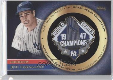 2012 Topps - Gold World Series Pin Card #GWSP-JD - Joe DiMaggio