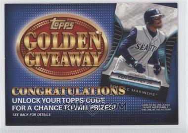 2012 Topps - Golden Giveaway Code Cards #GGC-20 - Ken Griffey Jr.