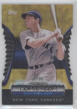 2012 Topps - Golden Giveaway Contest Golden Moments Die-Cut - Gold #GMDC-5 - Joe DiMaggio /99
