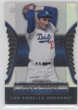 2012 Topps - Golden Giveaway Contest Golden Moments Die-Cut #GMDC-11 - Sandy Koufax