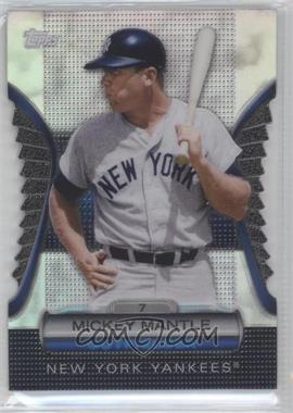 2012 Topps - Golden Giveaway Contest Golden Moments Die-Cut #GMDC-7 - Mickey Mantle