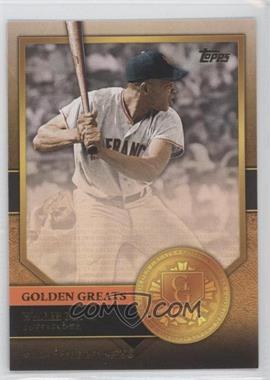 2012 Topps - Golden Greats #GG-14 - Willie Mays