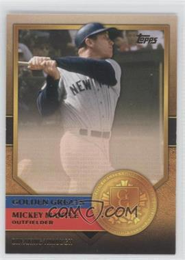 2012 Topps - Golden Greats #GG-33 - Mickey Mantle