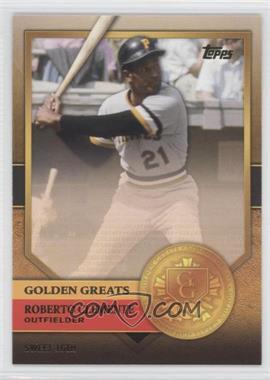 2012 Topps - Golden Greats #GG-36 - Roberto Clemente