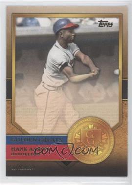 2012 Topps - Golden Greats #GG-53 - Hank Aaron
