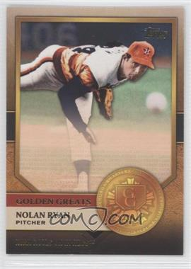 2012 Topps - Golden Greats #GG-6 - Nolan Ryan