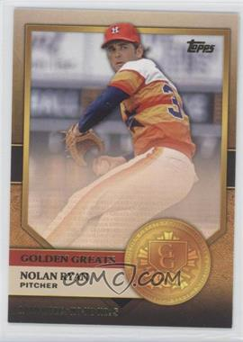 2012 Topps - Golden Greats #GG-7 - Nolan Ryan