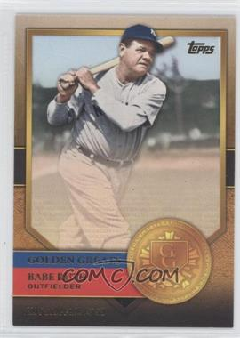 2012 Topps - Golden Greats #GG-72 - Babe Ruth