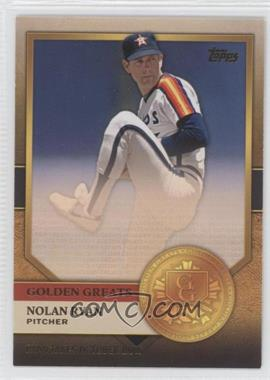 2012 Topps - Golden Greats #GG-9 - Nolan Ryan
