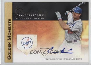 2012 Topps - Golden Moments Certified Autographs #GMA-AE - Andre Ethier