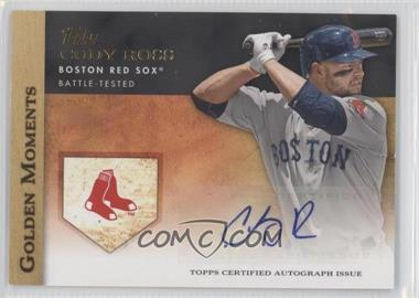 2012 Topps - Golden Moments Certified Autographs #GMA-CR - Cody Ross