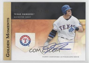 2012 Topps - Golden Moments Certified Autographs #JOHA - Josh Hamilton