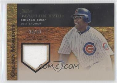 2012 Topps - Golden Moments Game-Used Memorabilia - Gold #GMR-MB - Marlon Byrd /99