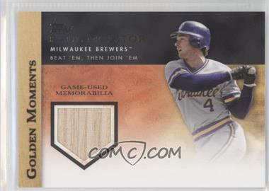 2012 Topps - Golden Moments Game-Used Memorabilia #GMR-PM.1 - Paul Molitor (Grey Uniform)