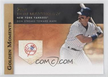 2012 Topps - Golden Moments Series One #GM-13 - Don Mattingly