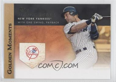 2012 Topps - Golden Moments Series One #GM-3 - Derek Jeter
