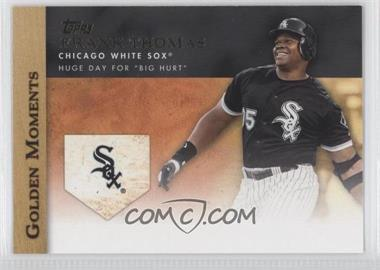 2012 Topps - Golden Moments Series One #GM-35 - Frank Thomas