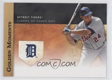 2012 Topps - Golden Moments Series One #GM-40 - Miguel Cabrera