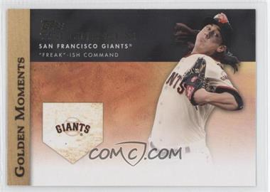 2012 Topps - Golden Moments Series Two #GM-12 - Tim Lincecum