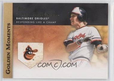 2012 Topps - Golden Moments Series Two #GM-14 - Cal Ripken Jr.