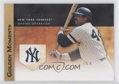 2012 Topps - Golden Moments Series Two #GM-33 - Reggie Jackson