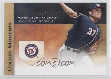 2012 Topps - Golden Moments Series Two #GM-36 - Stephen Strasburg
