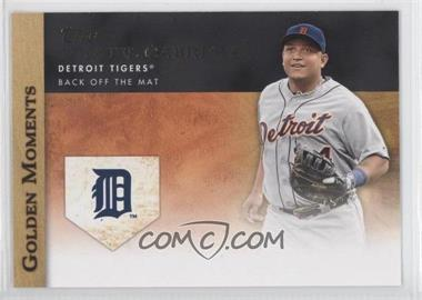 2012 Topps - Golden Moments Series Two #GM-45 - Miguel Cabrera