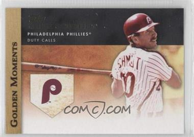 2012 Topps - Golden Moments Series Two #GM-46 - Mike Schmidt