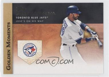 2012 Topps - Golden Moments Series Two #GM-6 - Jose Bautista