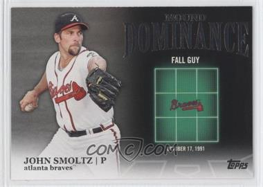 2012 Topps - Mound Dominance #MD-14 - John Smoltz
