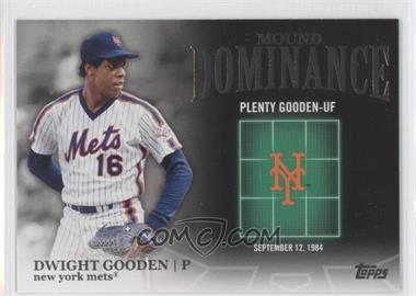2012 Topps - Mound Dominance #MD-15 - Dwight Gooden