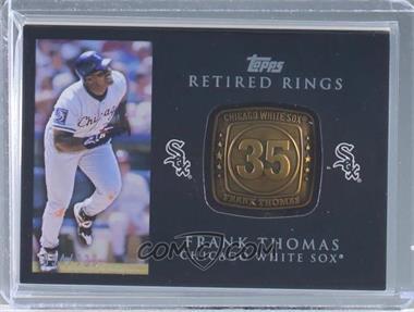 2012 Topps - Retired Rings #RR-FT - Frank Thomas /736