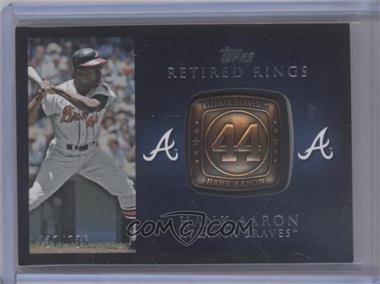 2012 Topps - Retired Rings #RR-HA - Hank Aaron /736