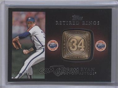 2012 Topps - Retired Rings #RR-NR - Nolan Ryan /736