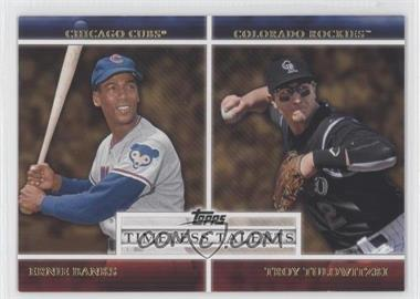 2012 Topps - Timeless Talents #TT-20 - Troy Tulowitzki, Ernie Banks