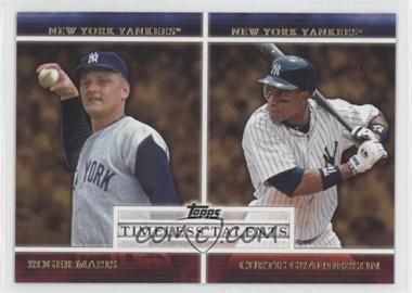 2012 Topps - Timeless Talents #TT-24 - Roger Maris, Curtis Granderson