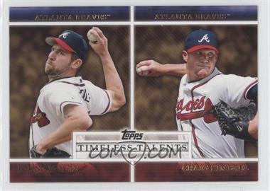2012 Topps - Timeless Talents #TT-9 - John Smoltz, Craig Kimbrel