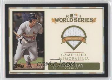 2012 Topps - World Series Champions Relics #WCR-11 - Jon Jay /100