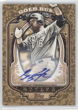 2012 Topps - Wrapper Redemption Gold Rush - Certified Autograph [Autographed] #81 - Billy Butler /100