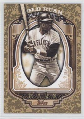 2012 Topps - Wrapper Redemption Gold Rush #20 - Willie Mays