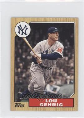 2012 Topps 1987 Topps Minis #TM-125 - Lou Gehrig