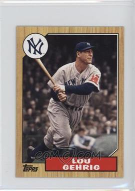 2012 Topps 1987 Topps Minis #TM-125 - Lou Gehrig