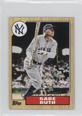 2012 Topps 1987 Topps Minis #TM-90 - Babe Ruth