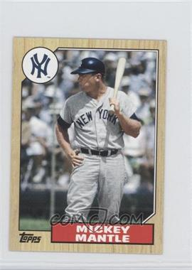 2012 Topps 1987 Topps Minis #TM-96 - Mickey Mantle