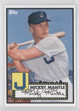 2012 Topps '52 Retro VIP National Convention [Base] #409 - Mickey Mantle