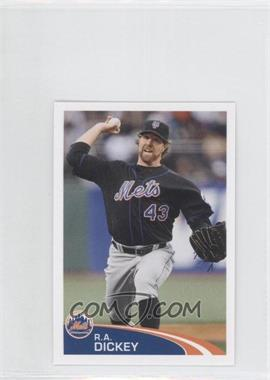 2012 Topps Album Stickers - [Base] #175 - R.A. Dickey