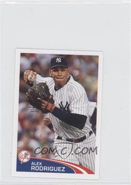 2012 Topps Album Stickers #20 - Alex Rodriguez