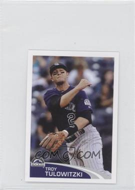 2012 Topps Album Stickers #271 - Troy Tulowitzki