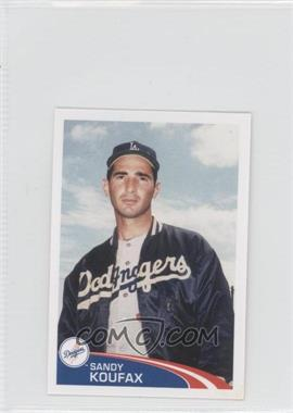 2012 Topps Album Stickers #282 - Sandy Koufax